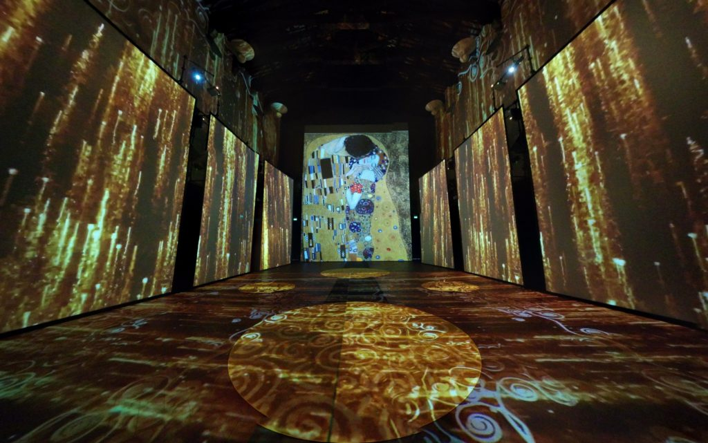klimt experience exhibition